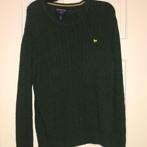 Green Aeropostale Crew Neck Sweater